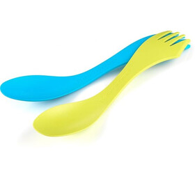 Light My Fire Spork Large 2-pack Lime/Cyan